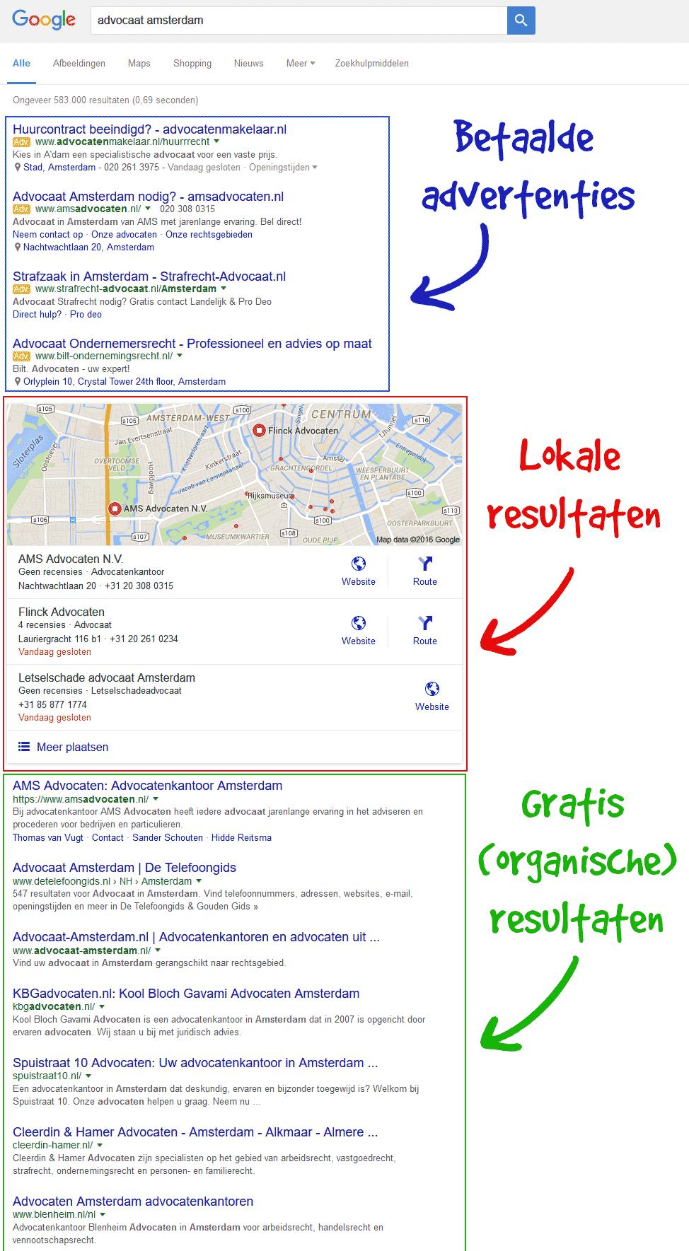 seo google local